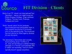 fit division clients