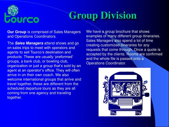 Group Division