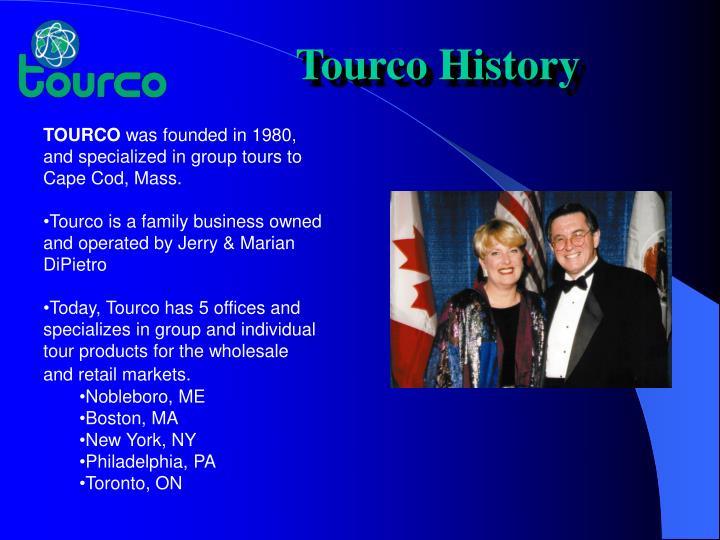 Tourco History
