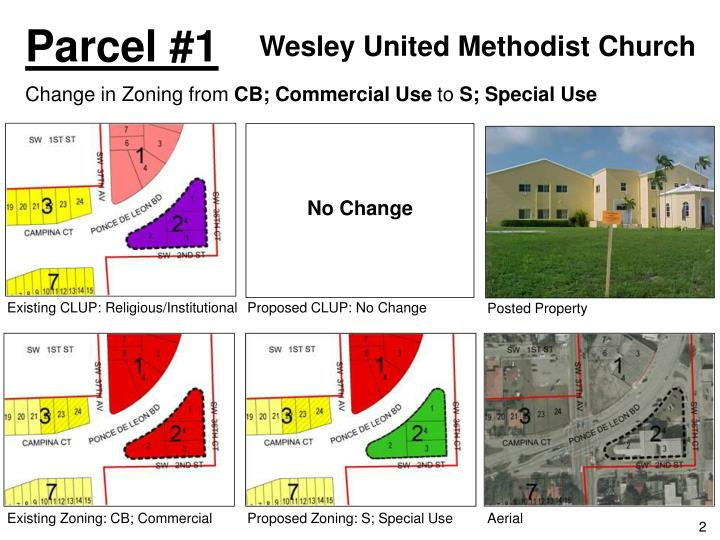 Ppt Changes To The City Of Coral Gables Zoning Map Powerpoint