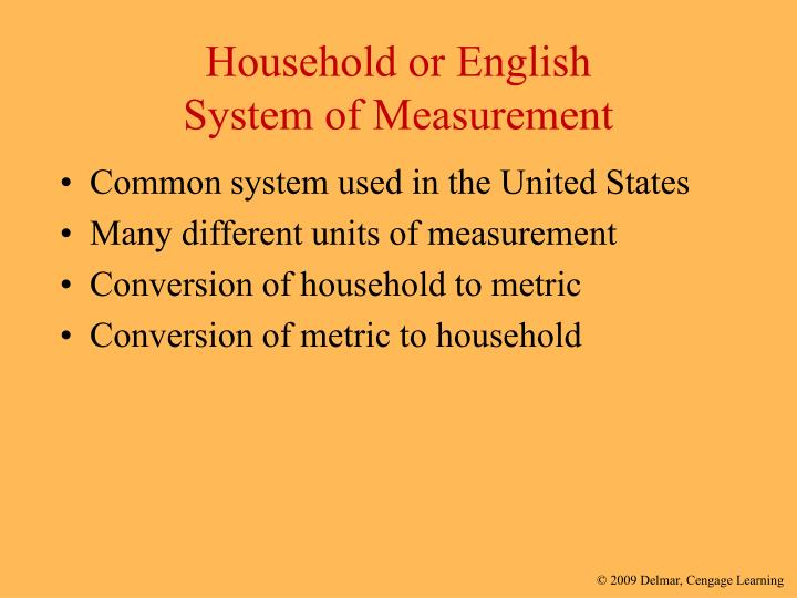 Household or English