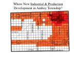 where new industrial production development in amboy township