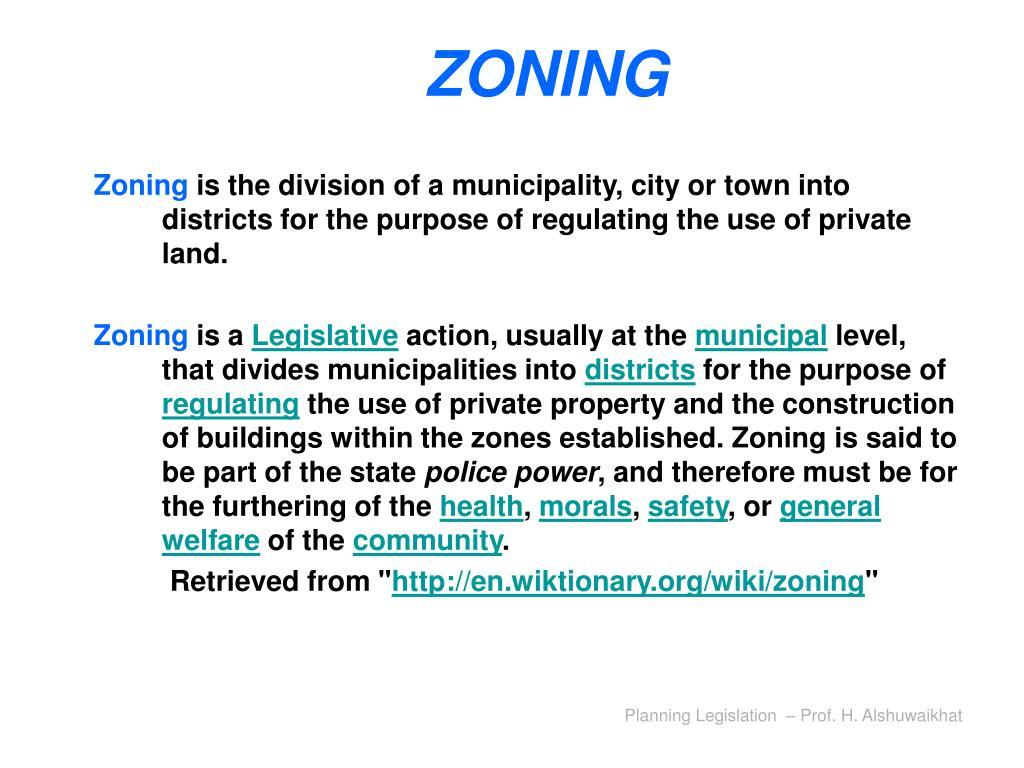 zoning l.