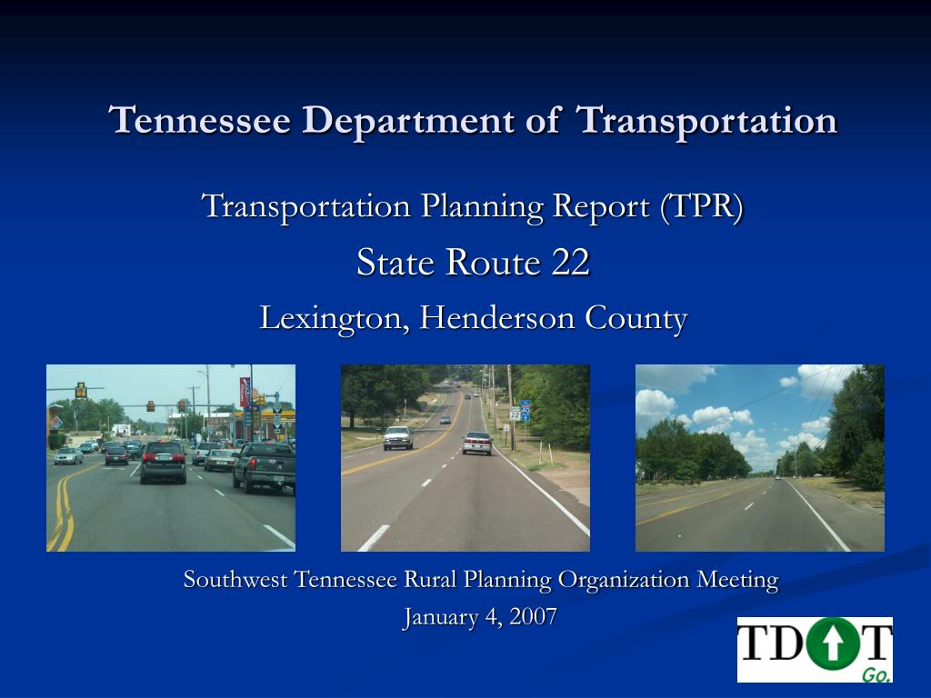 tennessee department of transportation l.