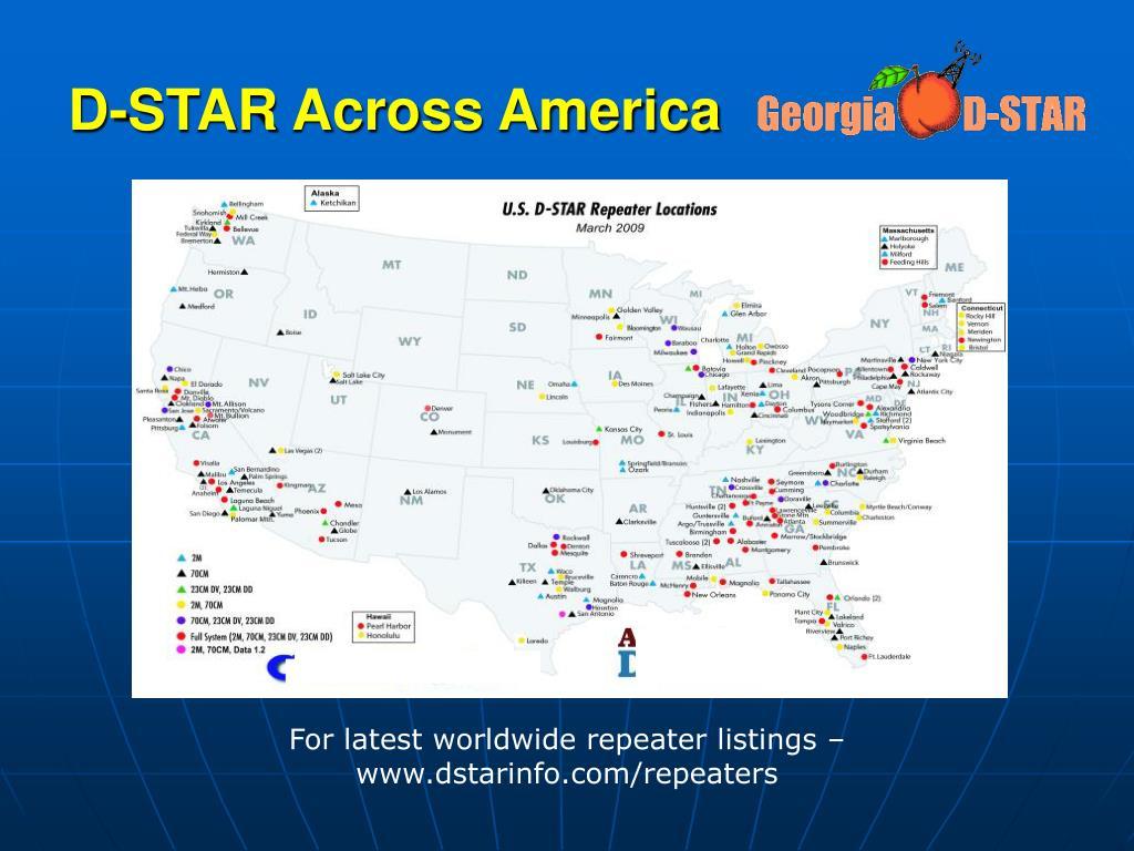 PPT - D-STAR Digital Smart Technology for Amateur Radio