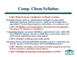 comp chem syllabus29