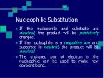 nucleophilic substitution7