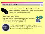 the aim of mrbump