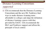 distance learning consortium supported