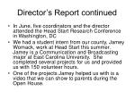director s report continued