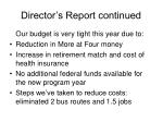 director s report continued33