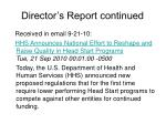 director s report continued35