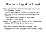 director s report continued36