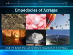 empedocles of acragas