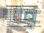 technological developments