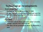 technological developments42