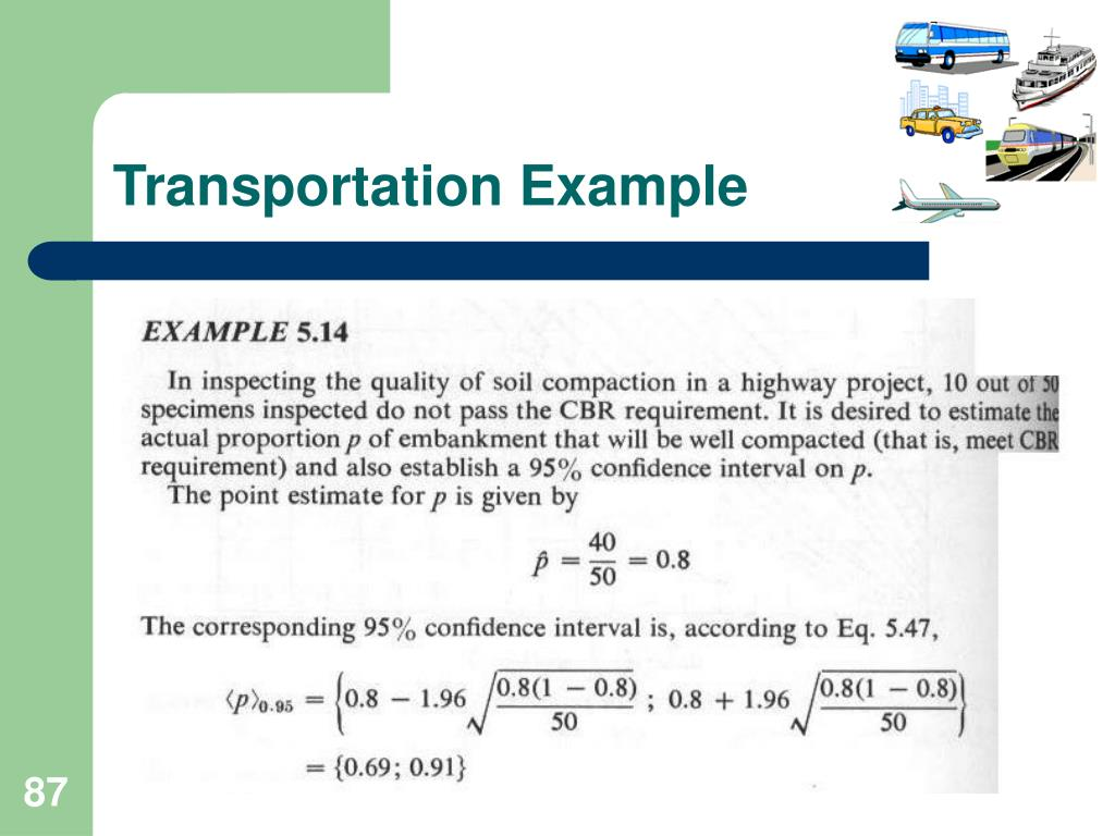 Transportation Example