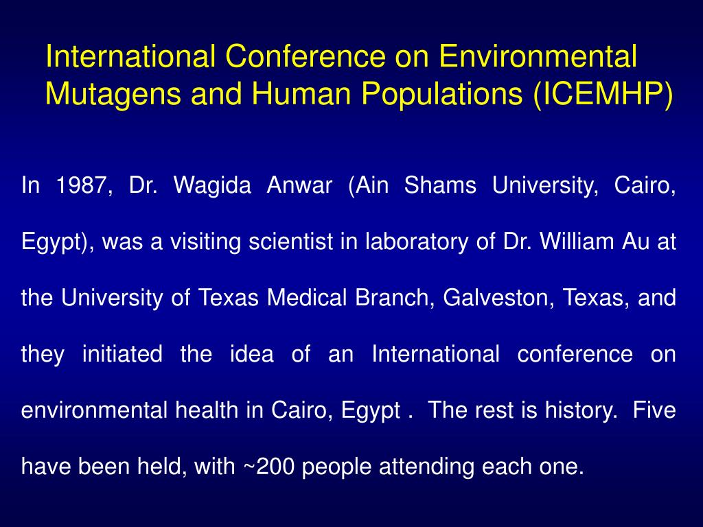 International Conference on Environmental