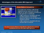 advantages of the executable mda approach29