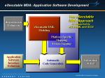 executable mda application software development
