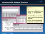 executable uml modeling simulation