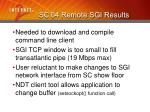 sc 04 remote sgi results