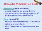molecular visualization tools