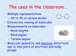 the uses in the classroom