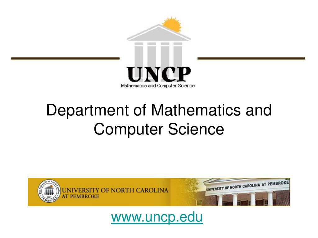 department of mathematics and computer science l.