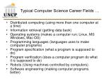 typical computer science career fields7