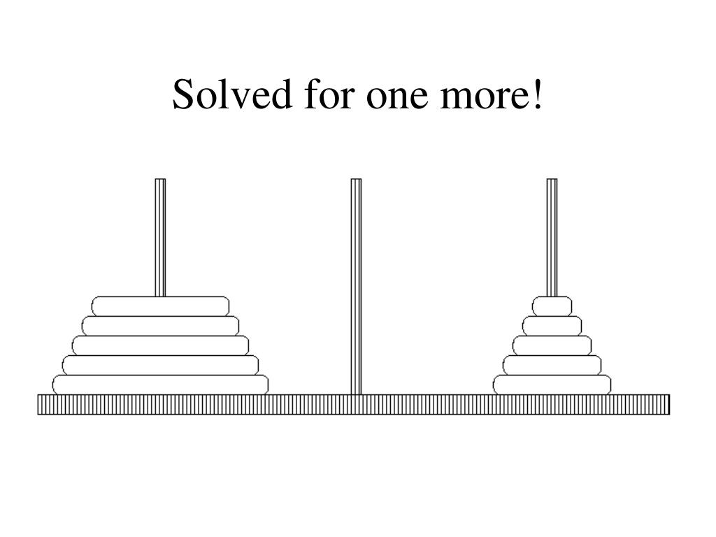 Solved for one more!