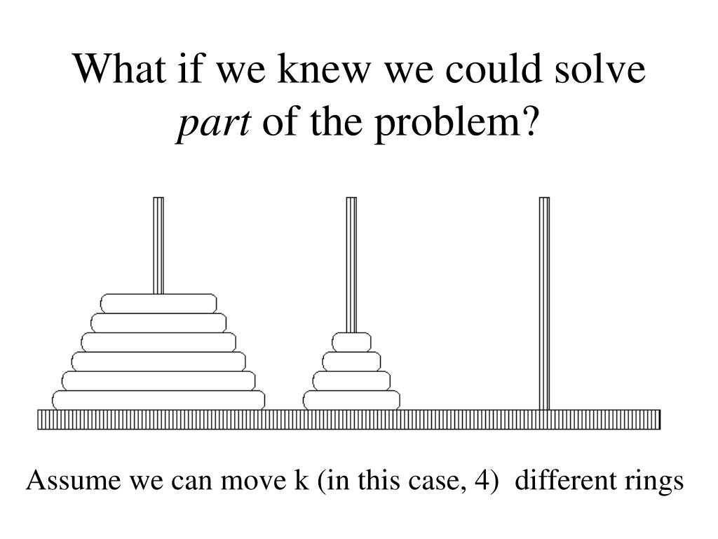 What if we knew we could solve