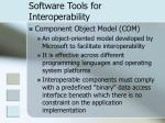 software tools for interoperability23