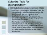 software tools for interoperability25