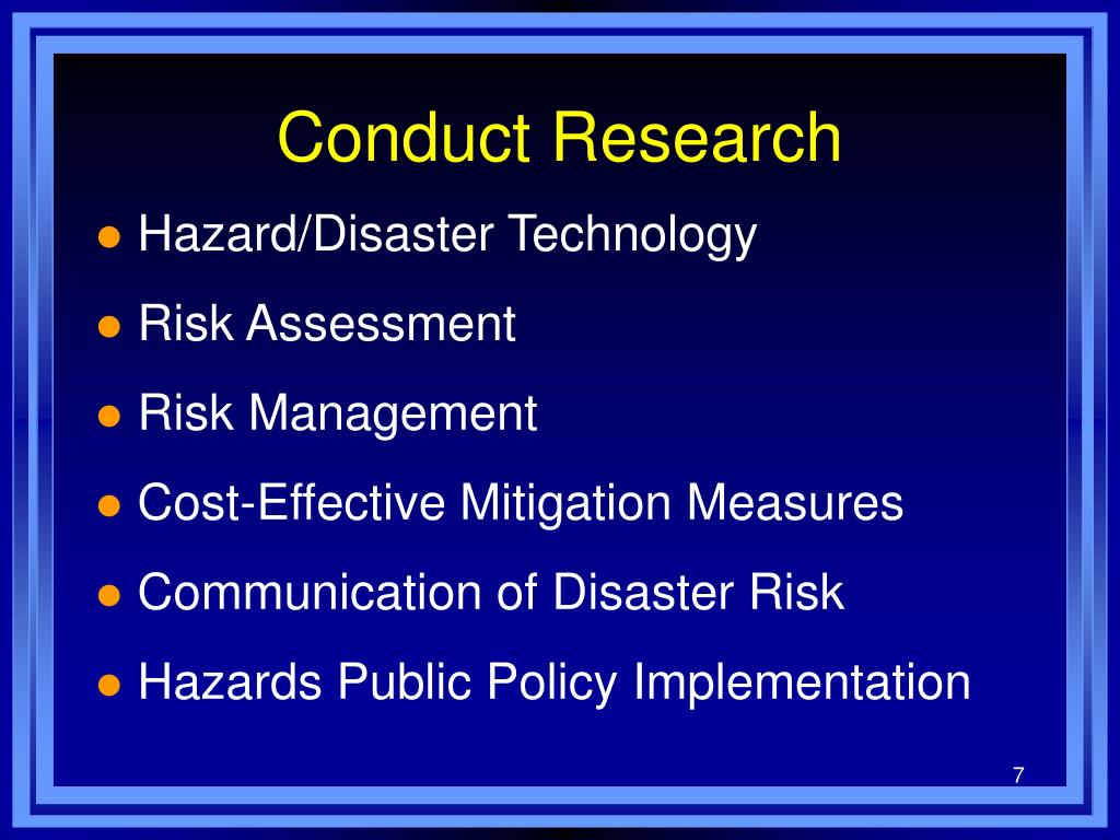 conduct of research These principles for the conduct of research in the arctic were prepared by the interagency social science task force in response to a recommendation by the polar.