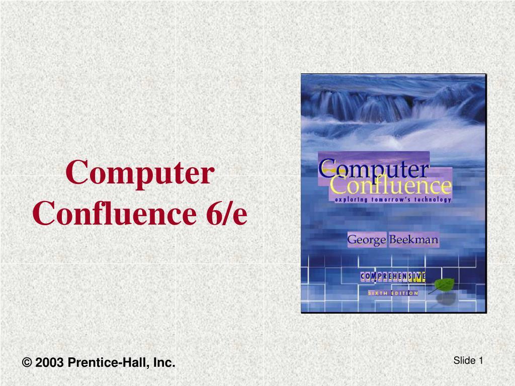 computer confluence 6 e l.
