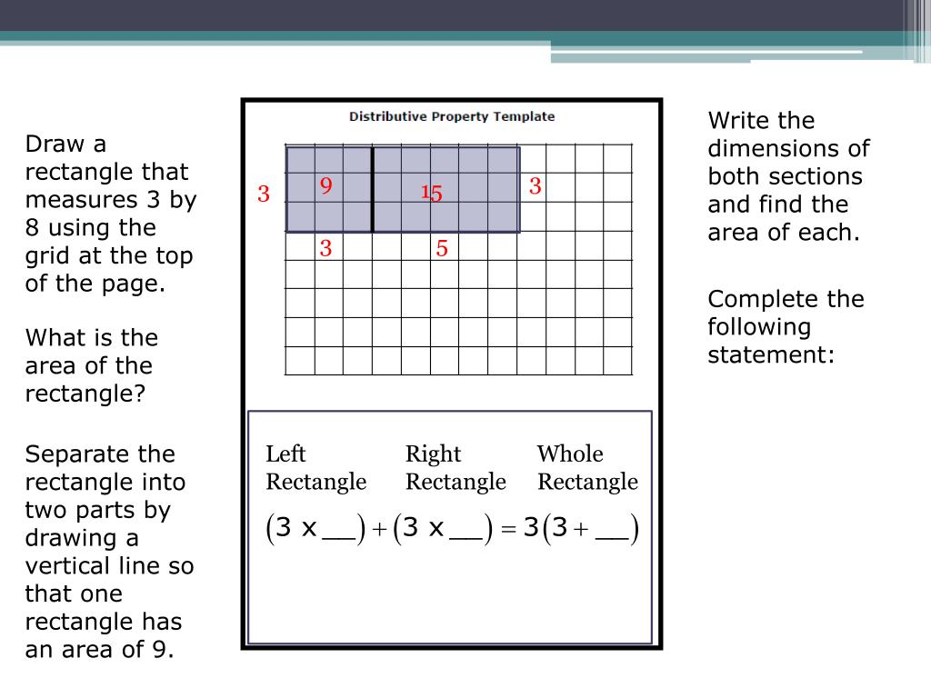Write the dimensions of both sections and find the area of each.