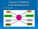 cocoon problems to be solved cont