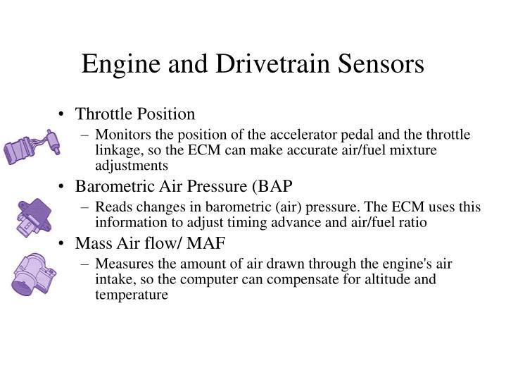 Engine and Drivetrain Sensors