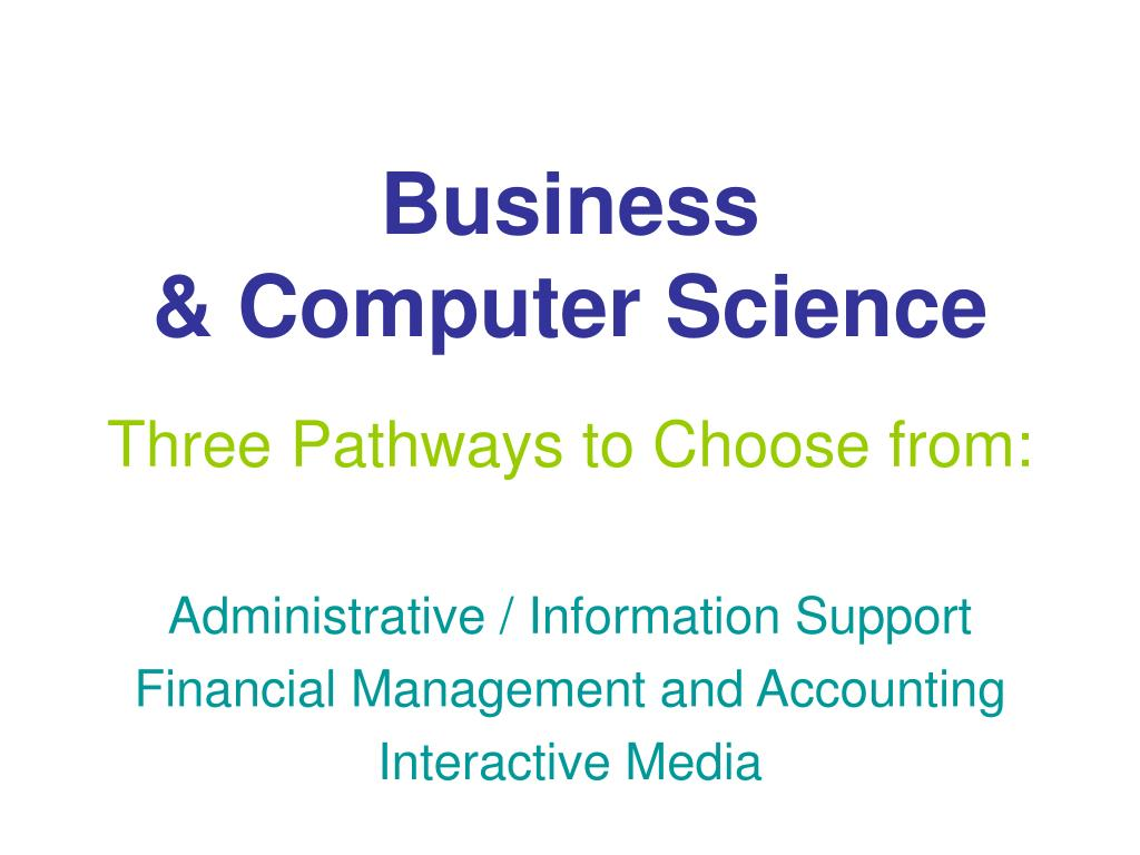 business computer science l.