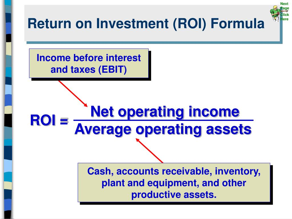 PPT - Return on Investment (ROI) Formula PowerPoint