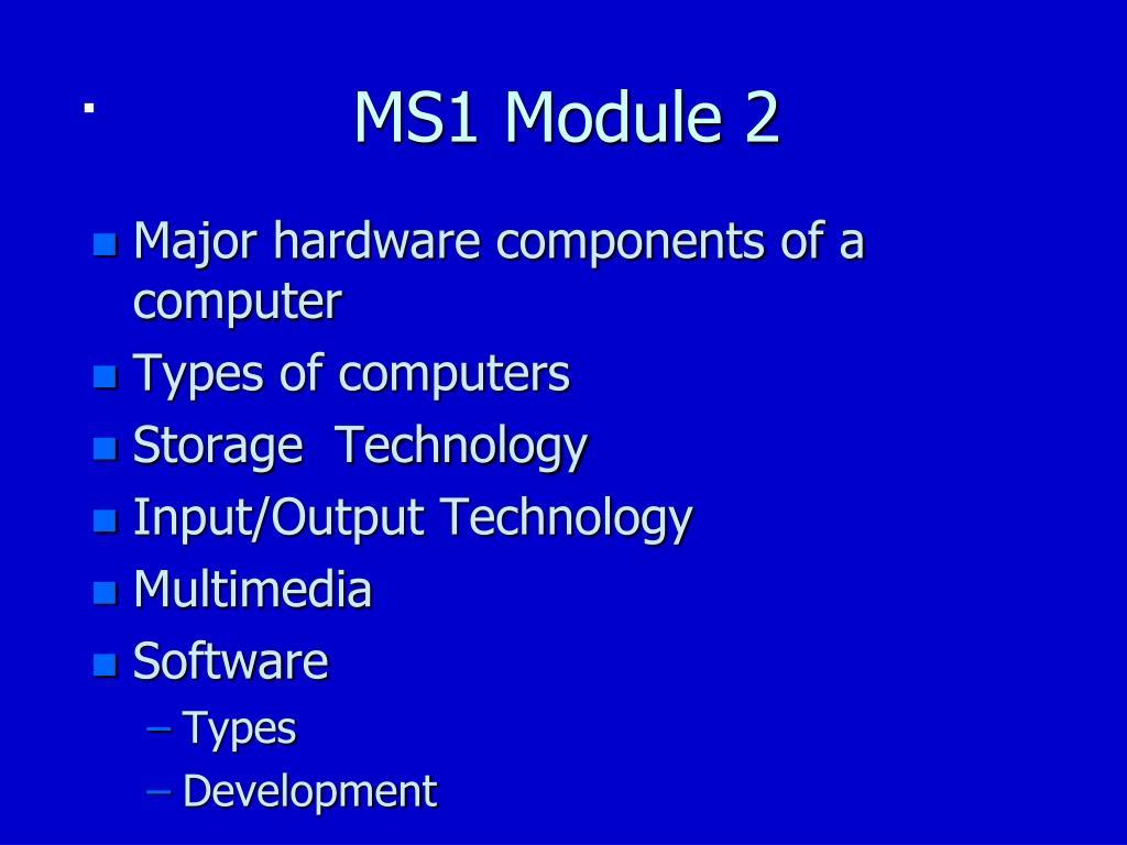 ms1 module 2 l.