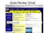 quick review email