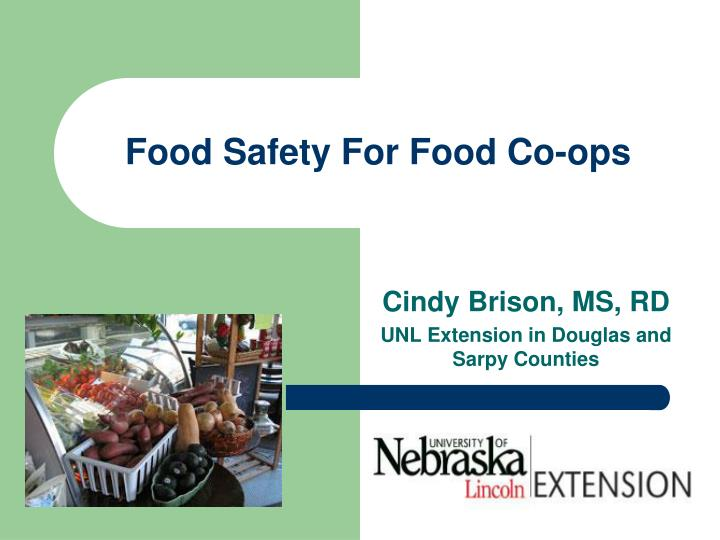 food safety for food co ops n.