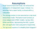 assumptions86