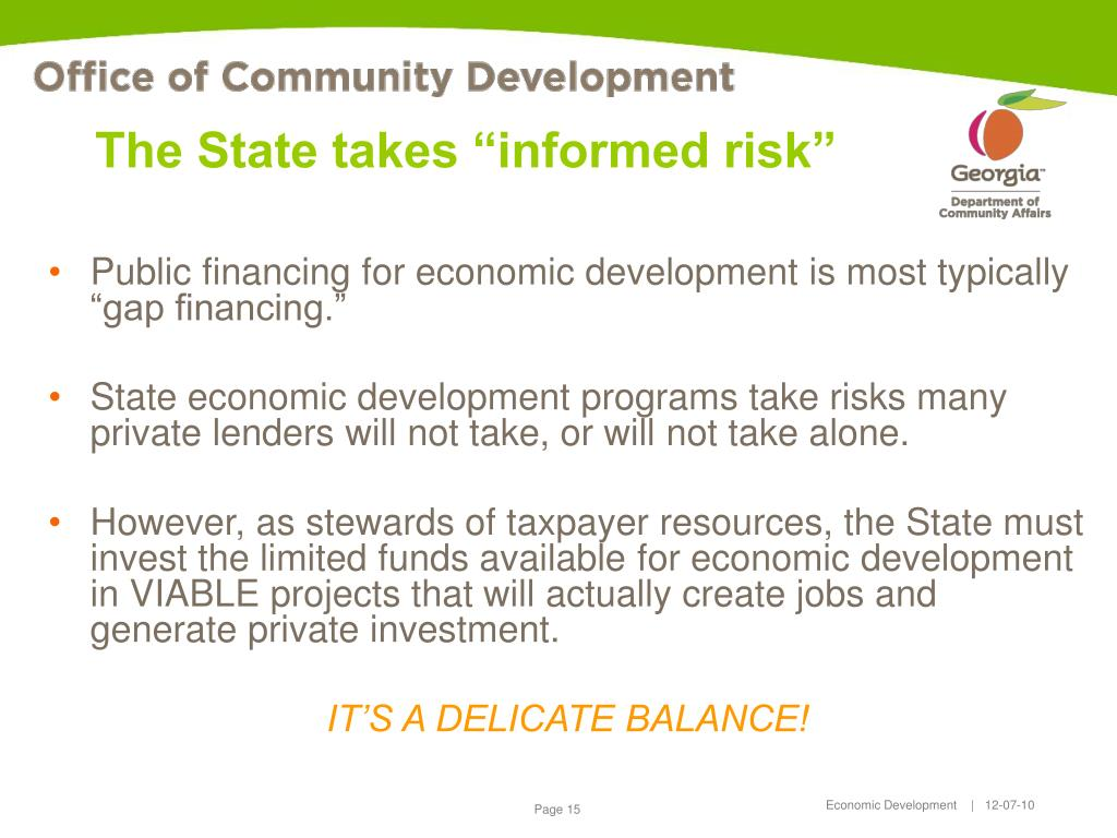 """The State takes """"informed risk"""""""