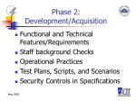 phase 2 development acquisition