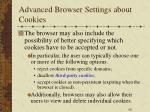 advanced browser settings about cookies