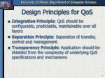 design principles for qos