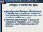 design principles for qos33